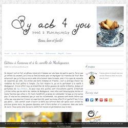 Gâteau à l'ananas et à la vanille de Madagascar -