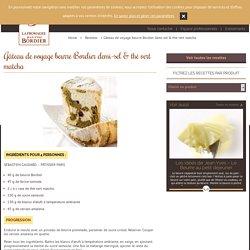 Gâteau de voyage beurre Bordier demi-sel & thé vert matcha - Le Beurre Bordier