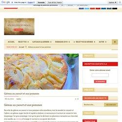 Gateau au yaourt aux pommes