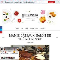 Mamie Gâteaux, salon de thé régressif rue du Cherche Midi à Paris