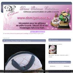 """Gâteaux """"Sacs à Main"""" 3D en Pâte à Sucre - Domi Gâteaux Créations"""