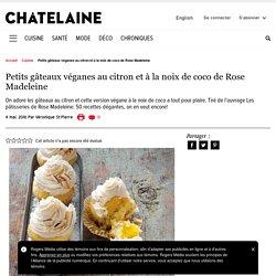 Petits gâteaux véganes au citron et à la noix de coco de Rose Madeleine