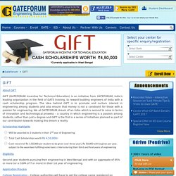 GIFT - GATEFORUM Incentive for Technical Education