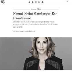 Naomi Klein: Gatekeeper Extraordinaire