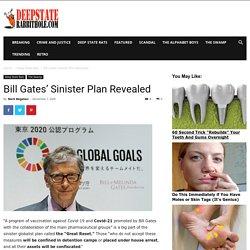 Bill Gates' Sinister Plan Revealed - Deep State Rabbit Hole
