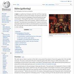 Salon (gathering)