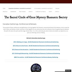 Sacred Circle of the Great Mystery Shamanic Society