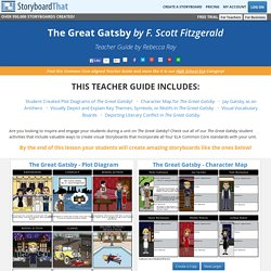 The Great Gatsby by F. Scott Fitzgerald Teacher Guide - FREE