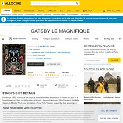 Gatsby le Magnifique - film 2013