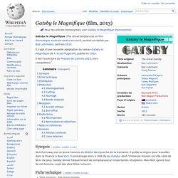 Gatsby le Magnifique (film, 2013)