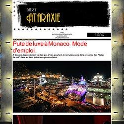 Pute de luxe à Monaco : Mode d'emploi...