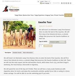 Gaucho Tour Buenos Aires Tango Shows