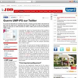 Guerre UMP-PS sur Twitter