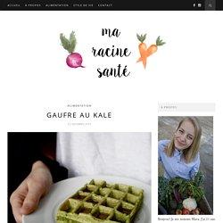 Gaufre au kale – Ma racine santé