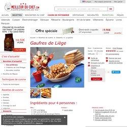 Gaufres de Liège - Fiche recette avec photos