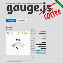 gauge.js