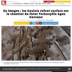 En images: les Gaulois refont surface sur le chantier du futur Technopôle Agen Garonne - Sud Ouest.fr