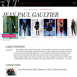 Jean Paul Gaultier - Designer Fashion Label