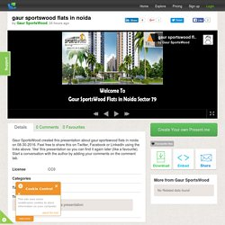 gaur sportswood flats in noida