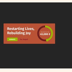 Restarting Lives, Rebuilding Joy