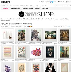 Popular Gawker Artists Art Prints