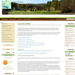 Le gaz de schistes - Bouzic-Perigord