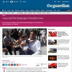 Gaza and the language of modern war