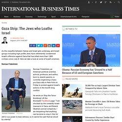 Gaza Strip: The Jews who Loathe Israel