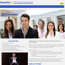 Gazelles Growth Institute 4D Assesment