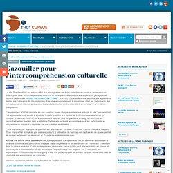 Gazouiller pour l'intercompréhension culturelle* : Articles : Didactique * : Thot Cursus
