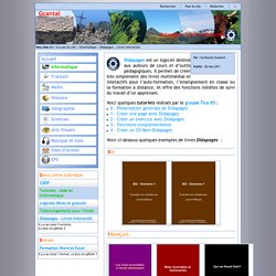 Gcantal - Didapages - Livres interactifs