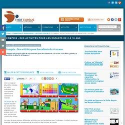 GCompris - Activités variées pour enfants de 2 à 10 ans