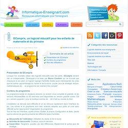 GCompris, un jeu éducatif pour l'enfant de maternelle ou du primaire