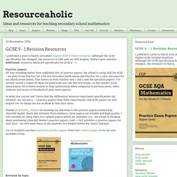 GCSE 9 - 1 Revision Resources
