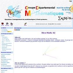 GDM62 - DICO Math 62