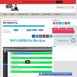 Gdpr plugin wordpress Options