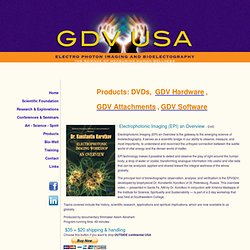 GDV-USA - The Science of Measuring Human Wellness