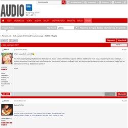 Gdzie kupić plyty CD!? - Forum Audio - Testy sprzętu hi-fi, hi-end i kina domowego