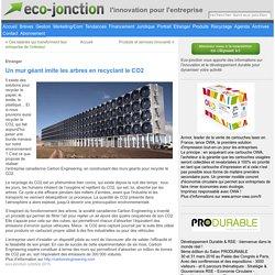 Un mur géant imite les arbres en recyclant le CO2 «