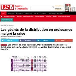 Les géants de la distribution en croissance...