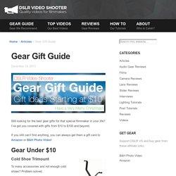 Gear Gift Guide