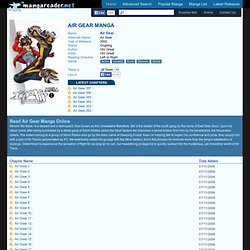 Air Gear Manga - Read Air Gear Online For Free