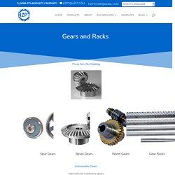 Gear and Racks for Sale at Best Price