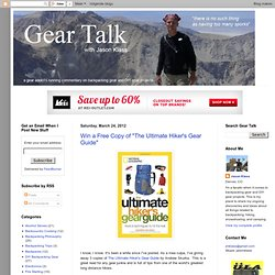 Gear Talk with Jason Klass