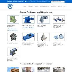 Speed Reducer & Gearboxes Manufacturer, Supplier, Exporter
