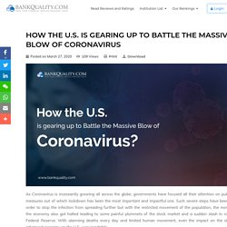 How the U.S. is gearing up to Battle the Massive Blow of Coronavirus