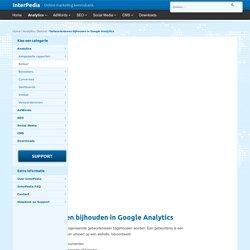 Gebeurtenissen in Google Analytics bijhouden