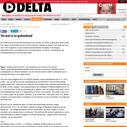 05/09/96 'De wet is te gebiedend' - TU Delta - Universiteitsblad TU Delft