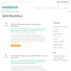 GED/Workflow Archives - everteam/fr