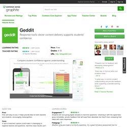 Geddit Educator Review